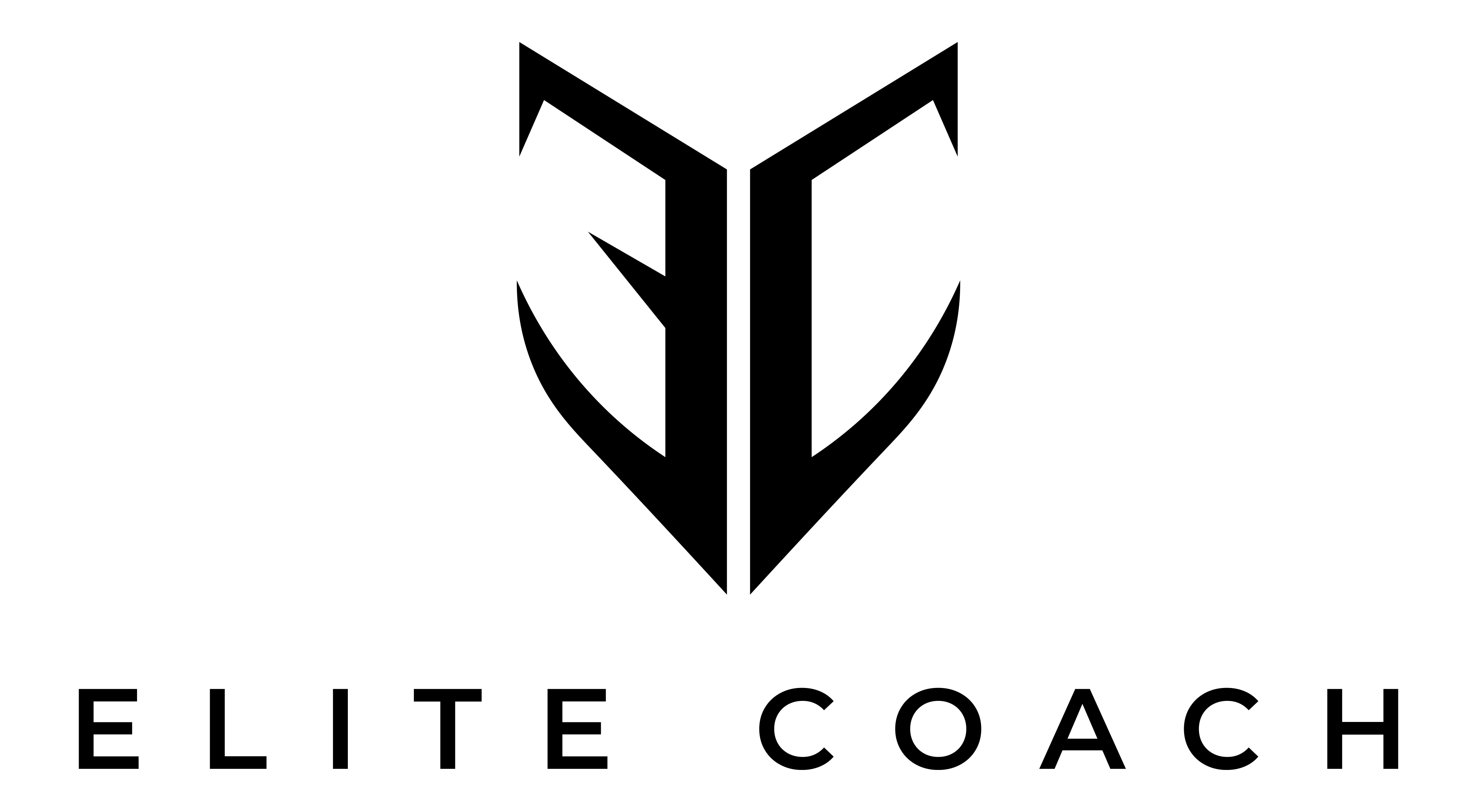 Elite Coach Black Version With White Background