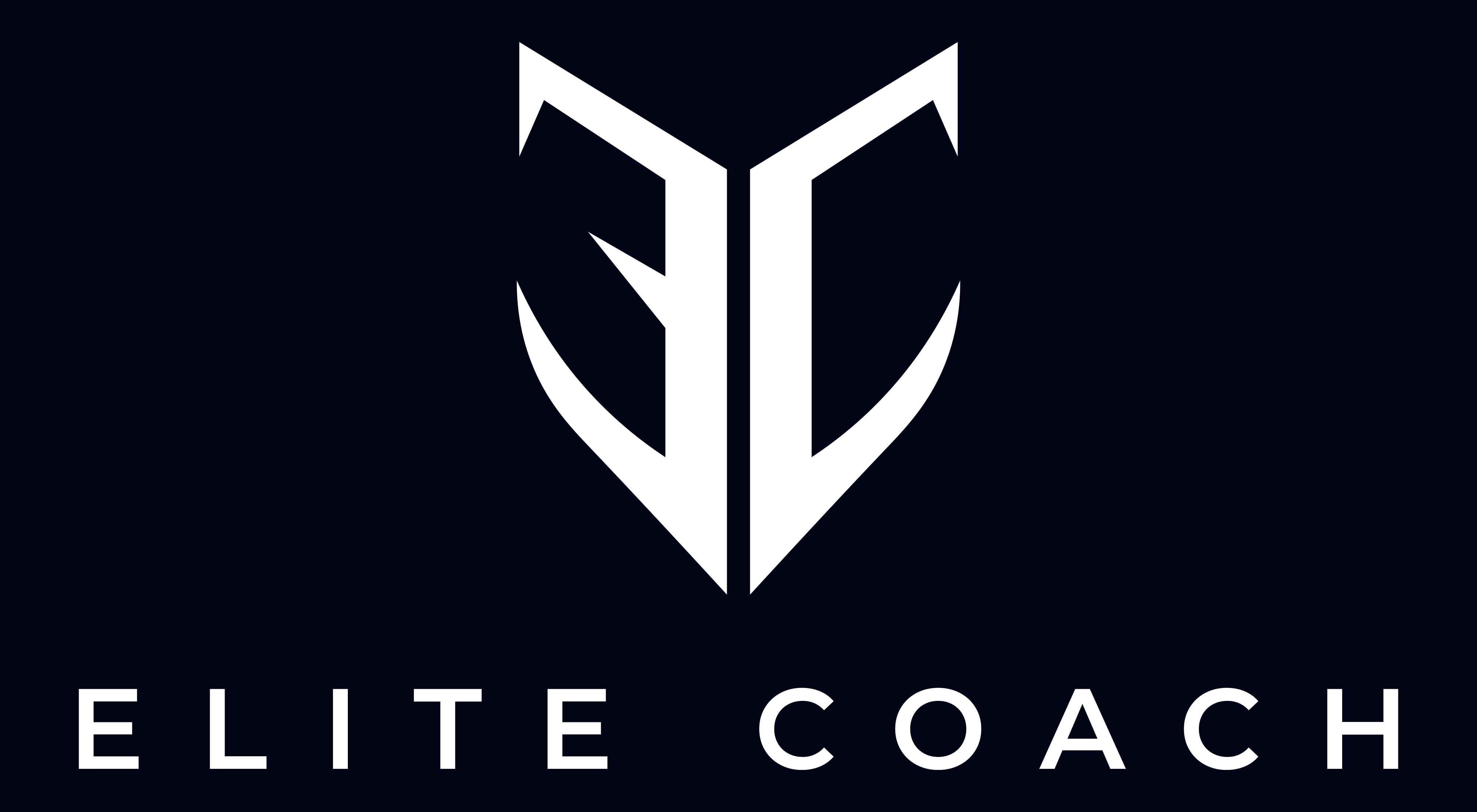 Elite Coach With Dark Blue Background
